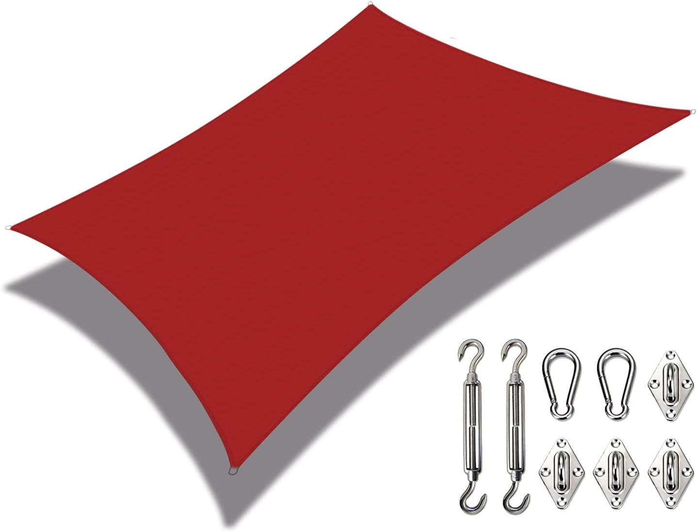 Coarbor Waterproof 5'x24' Customized Sun Came Atlanta Mall Max 40% OFF Shade Sail Canopy