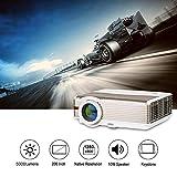 5000 Lumens Multimédia HD LED Vidéoprojecteur WXGA Haute Résolution HDMI LCD...