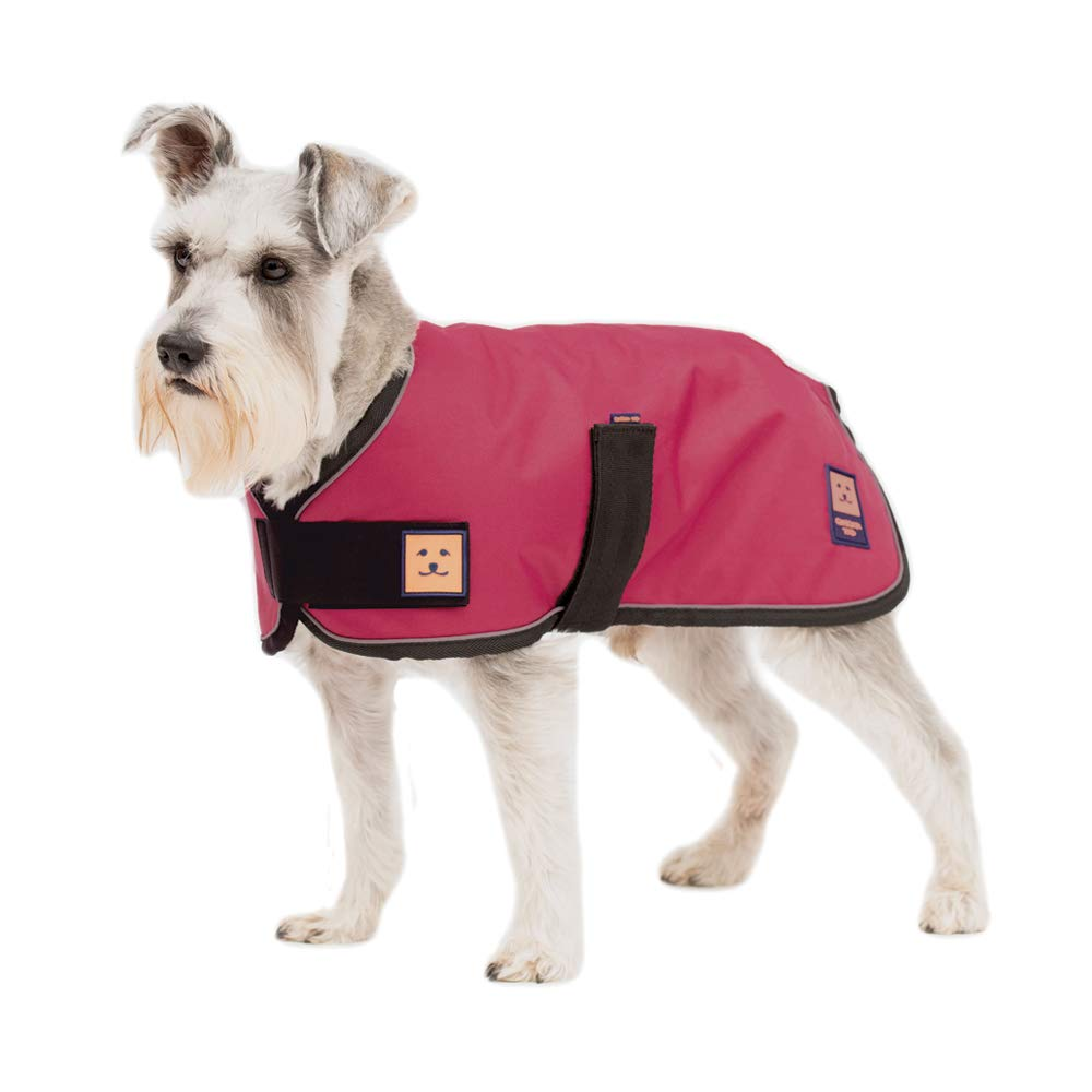 Ginger Ted Shower Waterproof Dog Coat Small size 12inch 30cm Brown