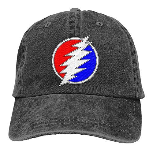 Dead & Company Vintage Baseball Cap Washed Cotton Denim Adjustable Low Profile Dad Hat for Men&Women