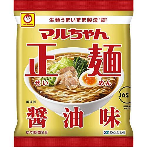 マルちゃん正麺醤油味5食