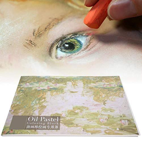 DAUERHAFT Leggero e Pratico, Libro di Pittura ad Acquerello, per Pastello a Olio, Regalo per Bambini