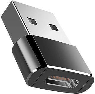 rongweiwang Till Art-c-USB-kontaktuttag adapter till USB-c-omvandlare bärbar dator USB-A-kontakt till USB-C-port bärbar om...
