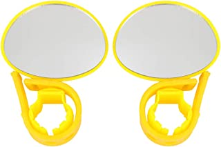 X AUTOHAUX 2Pcs Adjustable Bicycle Cycling Rear View Mirror Left Right Side