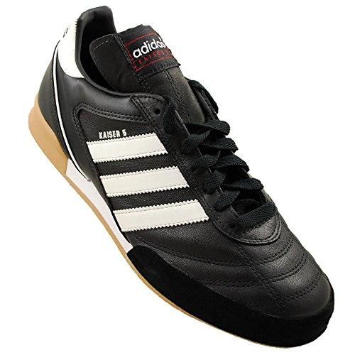 adidas–Kaiser 5Goal, Herren Sneaker, Blanco-Negro - Größe: 42.6