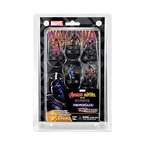 WizKids Marvel Heroclix: Avengers Black Panther & The Illuminati Fast Forces