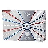 Callaway(キャロウェイ) ゴルフボール SUPER SOFT 1ダース12個入り 2019年モデル ホワイト