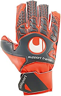 uhlsport Aerored Soft SF Junior Soccer Goalie Gloves