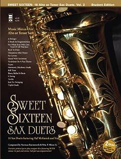 Sweet Sixteen Sax Duets: Alto Sax