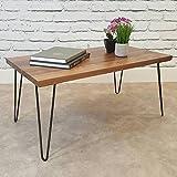 4 Stück Schwarz Eisen Tisch Beine Möbelfüße Tischbeine Haarnadel für Esstische Schreibtische...