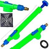 Rockfieln High Pressure Garden Pump Bottle Nozzle Spray Gun for Plants Garden Water Pesticide Car Wash Brass Sprayer Adjustable Pack of 1