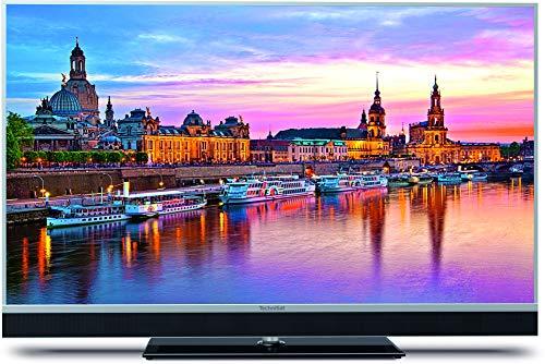 TechniSat TECHNIVISTA 55 SL (139 cm) UHD Fernseher (4K, 3X Twin Tuner, Smart TV, Alexa Sprachsteuerung, PVR Aufnahmefunktion, WLAN, LAN) Silber metallic/schwarz