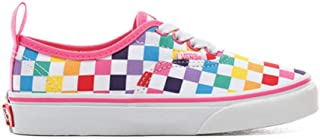 checkerboard vans laces