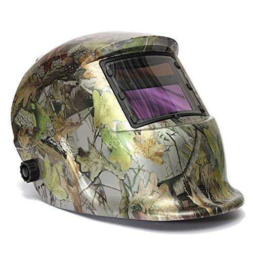 Masunn Verstelbare auto-verduistering, zon-, lassen helm, bos, camouflage