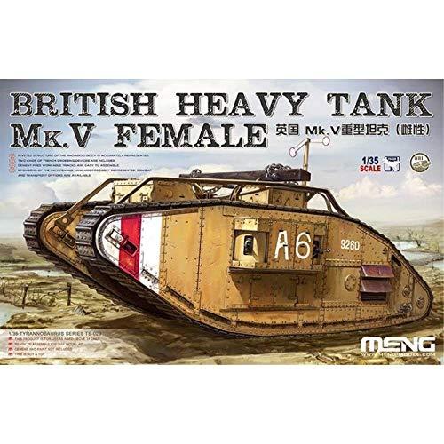 1/35 イギリス重戦車Mk.V (雌型) プラモデル