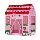 Spielzelt - TOOGOO(R)Spielhaus Maedchen Stadt Haus Kinder Geheimer Garten Rosa Spiel-Zelt Grossartig...