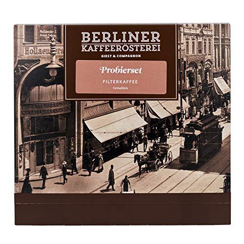 Probierset Filterkaffee | 12 Sorten á 50g | Gemahlen | Geschenk für Kaffeeliebhaber | Berliner Kaffeerösterei