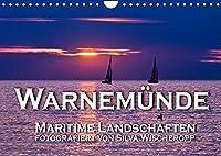 Warnemuende - Maritime Landschaften (Wandkalender 2022 DIN A4 quer): Maritime Landschaften aus dem Ostseebad Warnemuende, fotografiert von Silva Wischeropp (Monatskalender, 14 Seiten )
