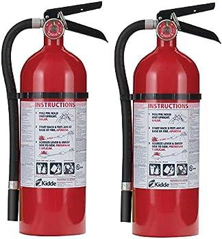 2-Pack Kidde Pro 210 2-A-10-B:C Fire Extinguisher