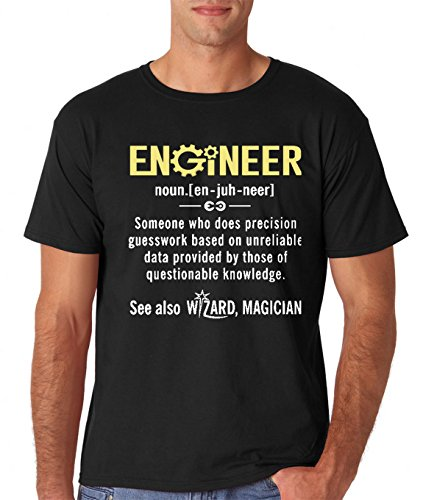 AW Fashions Engineer - Funny Engineer Meaning - Funny Definition Nerdy Science Geek Men