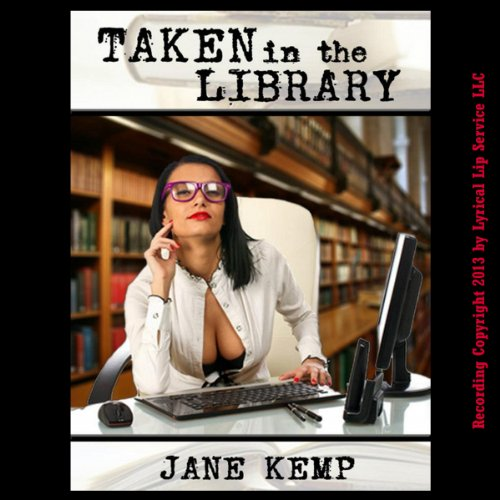 Taken in the Library audiobook cover art