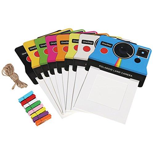Polaroid – Marcos de Foto Coloridas y Vintage para películas 600 de Tipo I, 3x4 (OneStep 2)