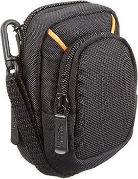 Amazon Basics Medium Point and Shoot Camera Case - 5 x 3 x 2 Inches Black