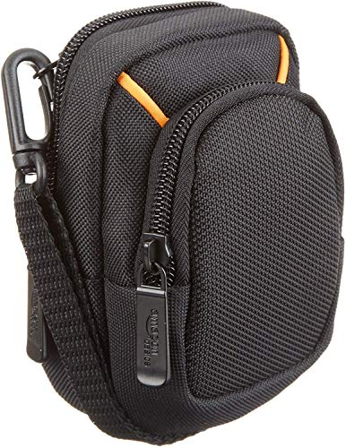 Amazon Basics Medium Point and Shoot Camera Case - 5 x 3 x 2 Inches, Black