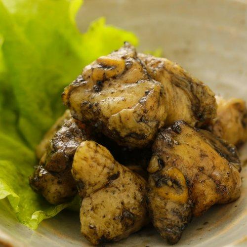 宮崎名物 鶏の炭火焼 焼き鳥 焼肉 バーベキューにおすすめ【冷凍】 (ぼんじり(80g), 20パック)