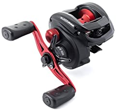 Lightweight design with one piece graphite frame and side plates 4 stainless steel ball bearings Power Disk system MagTrax brake system boosts range and accuracy of casts Compact bent handle and recessed reel provide an ergonomic grip