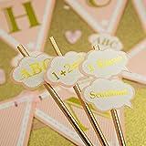 Oblique Unique® 12x Konfetti für Schuleinführung Einschulung Schulanfang Schulbeginn Tischdeko ABC Schulkind 1. Klasse 1 + 2 = 3 Schule Basteln Aufkleben - 4