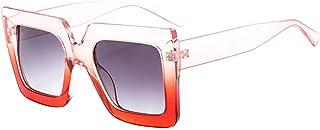 43afaee9da6 TANGSen Women Men Vintage Retro Big Frame Glasses Unisex Beach Sunglasses  Fashion Casual Outdoor Eyewear