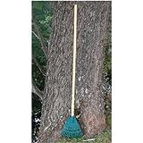 Poly Rake Hardwood Handle (8')