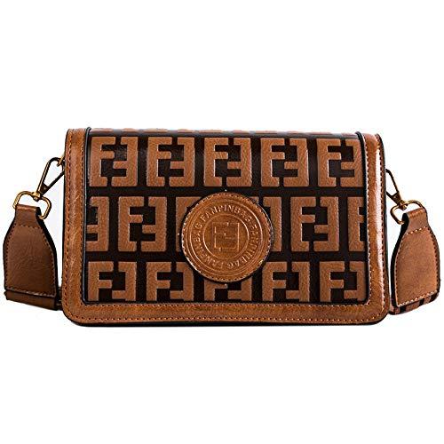 Borsa a tracolla moda donna La nuova borsa a tracolla piccola borsa Messenger selvatici a banda larga Adatto a varie scuole, viaggi, regali (Color : Red, Size : 14 inch)
