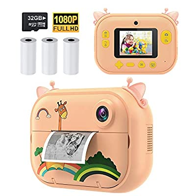 Instant Print Camera for Kids Boys Girls from INCHOR
