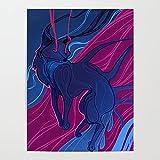 Beaxqb Pintura por Números para Adultos y Niños Zorro Negro Animal DIY Pintura al óleo para Niños y Adultos Principiantes Lona Lienzo Regalo de Pintura para 40x50cmSin Marco