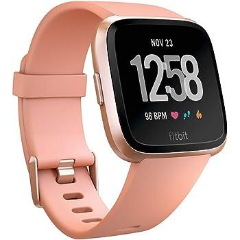 Fitbit Versa Smartwatch Deportivo, Melocotón: Fitbit: Amazon.es ...