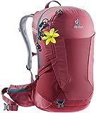 Deuter Futura 26 SL Hiking Backpack with Detachable Rain Cover, Cardinal-Cranberry