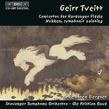Tveitt: Hardanger Fiddle Concertos Nos. 1 and 2 / Nykken