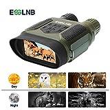 ESSLNB Jumelles De Vision Nocturne 7x31 Jumelles Infrarouge avec 2' TFT LCD Écran et 8GB TF Carte Photo Caméra Vidéo Enregistreur