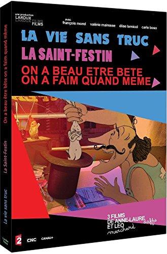 La Vie sans truc + La Saint-Festin + On a beau être bête on a faim quand même [Francia] [DVD]