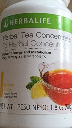 New Herbalife Tea Concentrate Lemon Flavor 1.8 Oz...