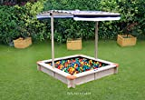 Hedstrom M008606 Sand/Ball Pit with Canopy, Multi