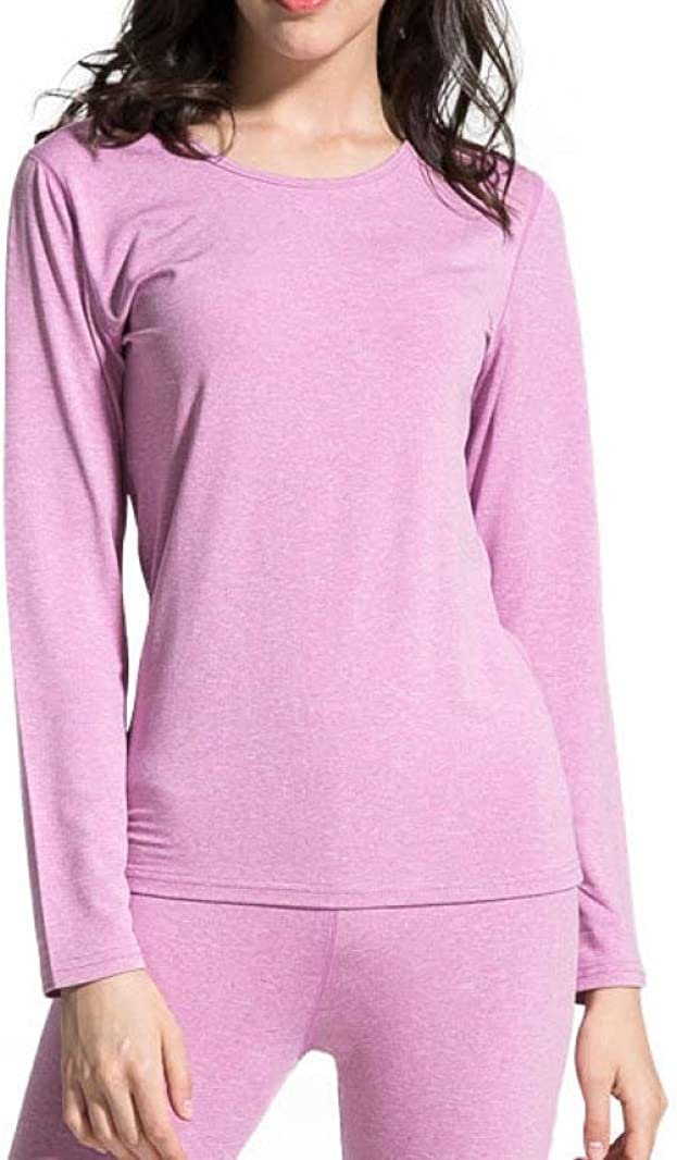 Women's Ultra Soft Thermal Underwear Long Johns Set Base Layer Top & Bottom with Warm Lined Winter