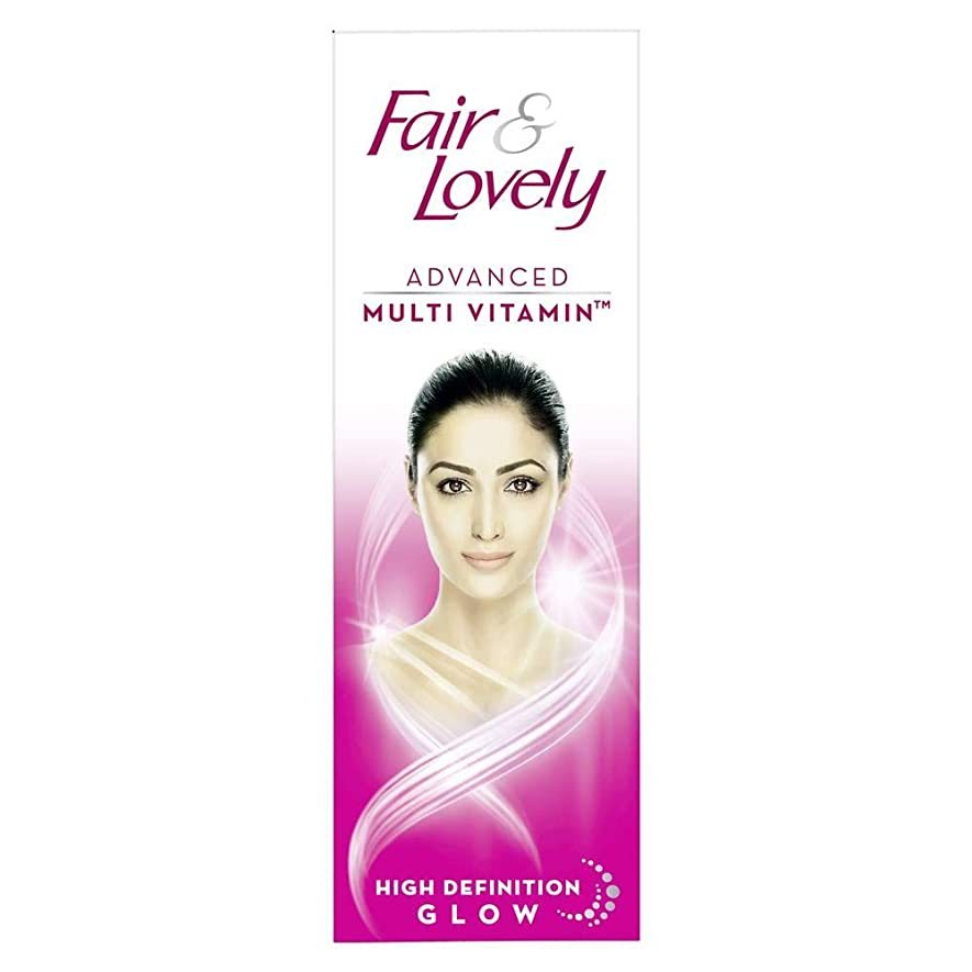 内訳予防接種適用するFair and Lovely Advanced Multi Vitamin Face Cream, 50g