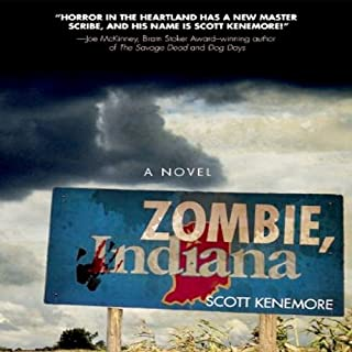 Zombie, Indiana audiobook cover art