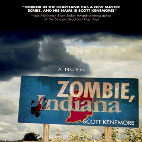 Zombie, Indiana audiobook cover art