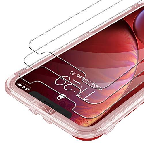 Panzerglas für iPhone 11/ XR 6.1 Zoll, Syncwire 3 Stück Blasenfrei HD Panzerglasfolie 9H-Festigkeit Anti-Bläschen Bildschirmschutzfolie Schutzfolie
