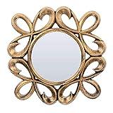 GARNECK Espejos Colgantes Vintage de 3 Piezas para Dormitorio Sala de Estar Espejos de Pared Decorativos Decoración de Pared de Entrada Rústica Vintage