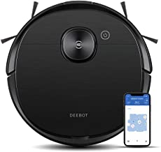 ECOVACS DEEBOT OZMO T8 AIVI Robot Vacuum Cleaner, Upgraded AIVI™ Technology, TrueMapping™ Navigation System, Most Powerful...